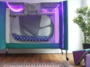 Complex care pod with lights