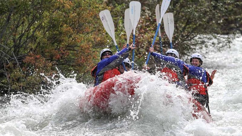 Rafting at Tieton River