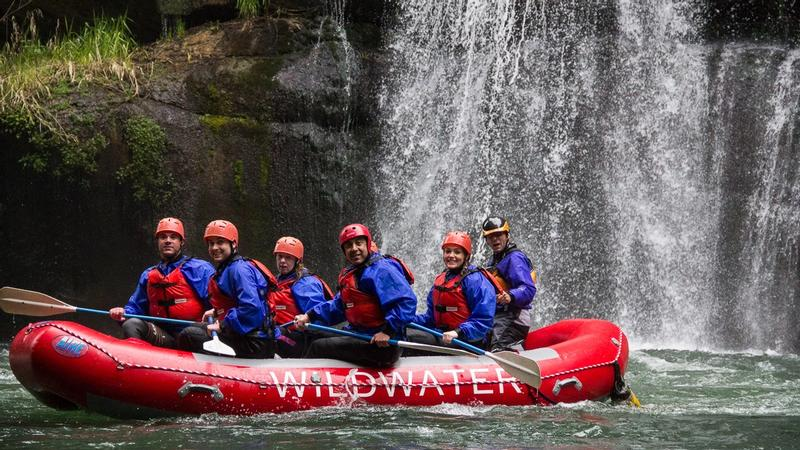 Rafting at Green River