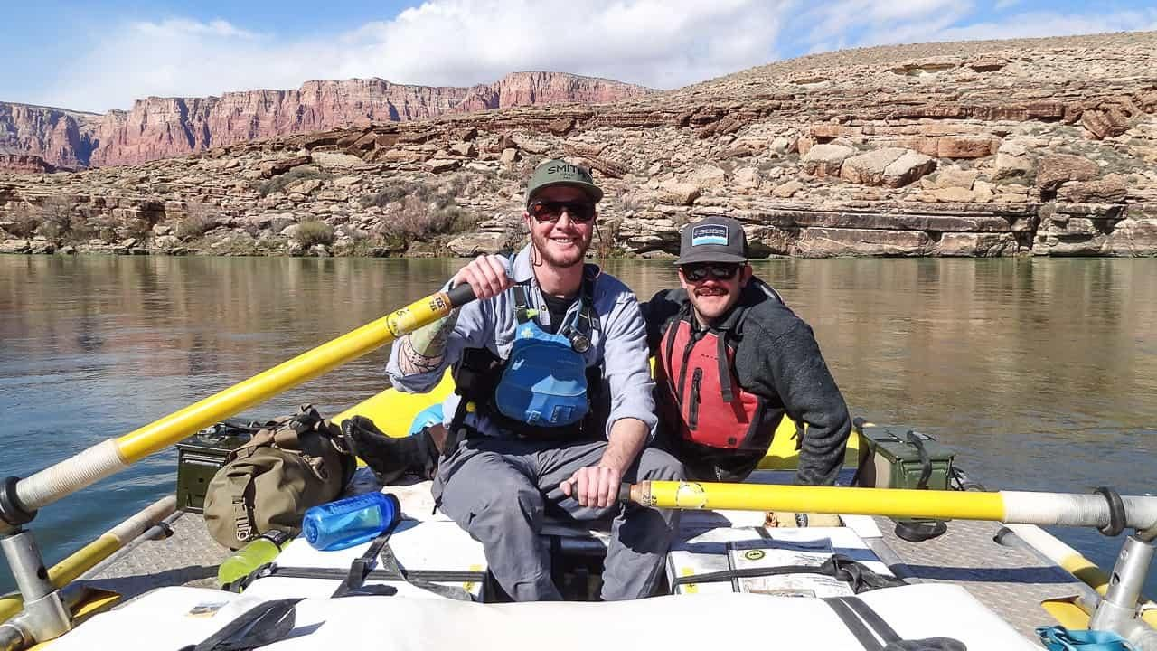 Grand planes to become a river guide