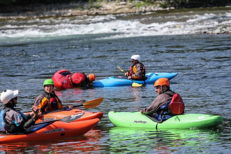 Beginner Kayak Instruction in Washington