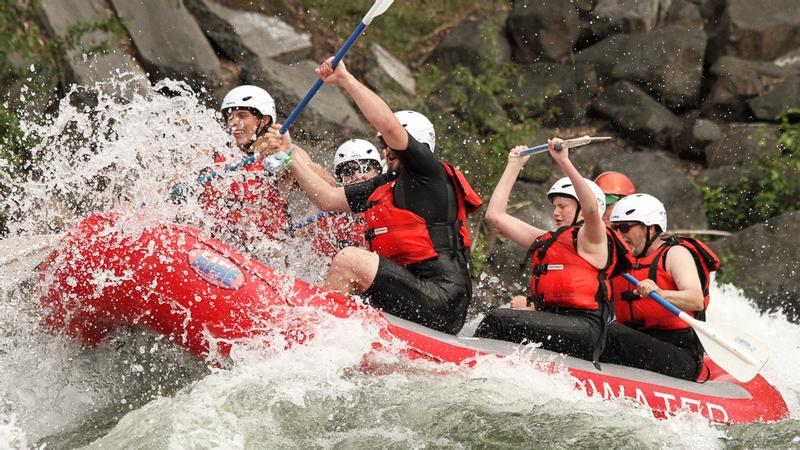 Rafting at Wenatchee River