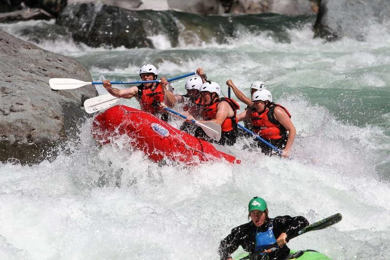 Skykomish River Rafting