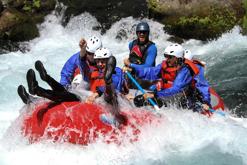 White Salmon Rafting