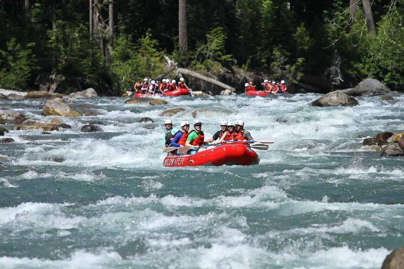 Sauk River Rafting