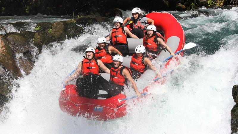 Rafting at White Salmon River