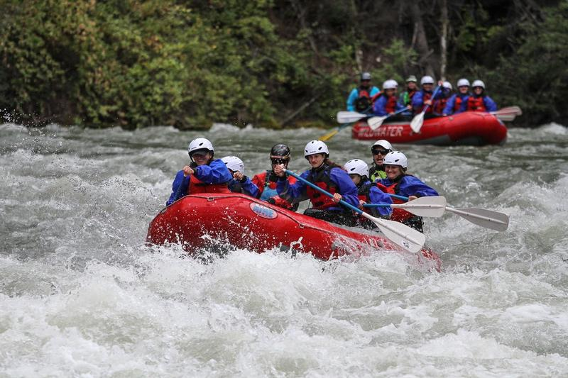 Tieton River Rafting