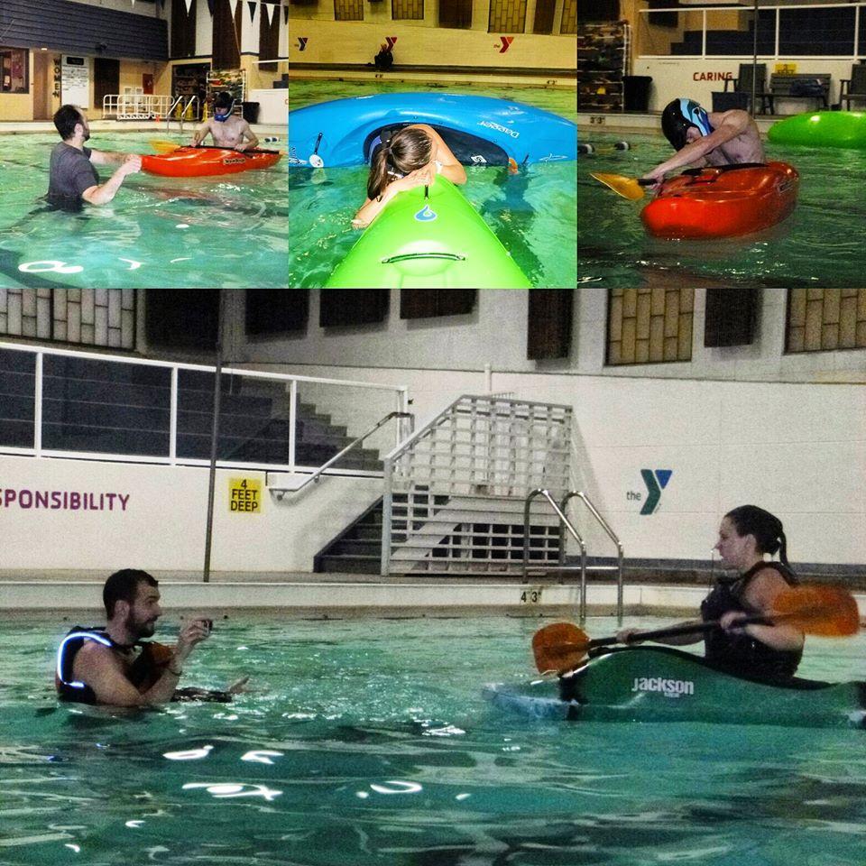Open Kayak Pool Session