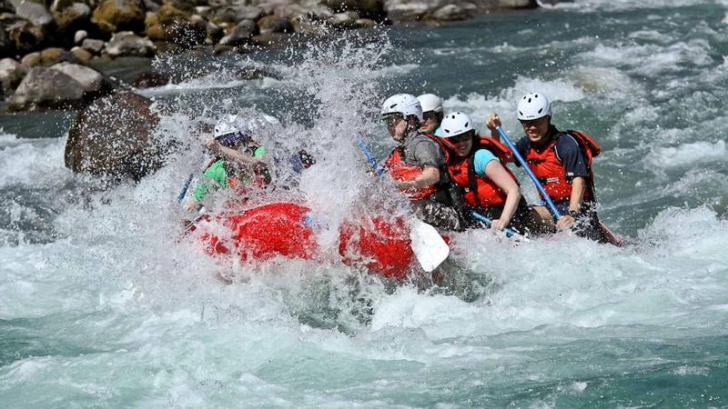Rafting at Sauk River