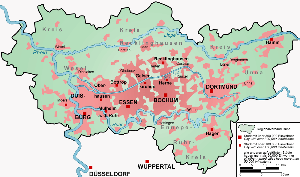 Ruhr Map