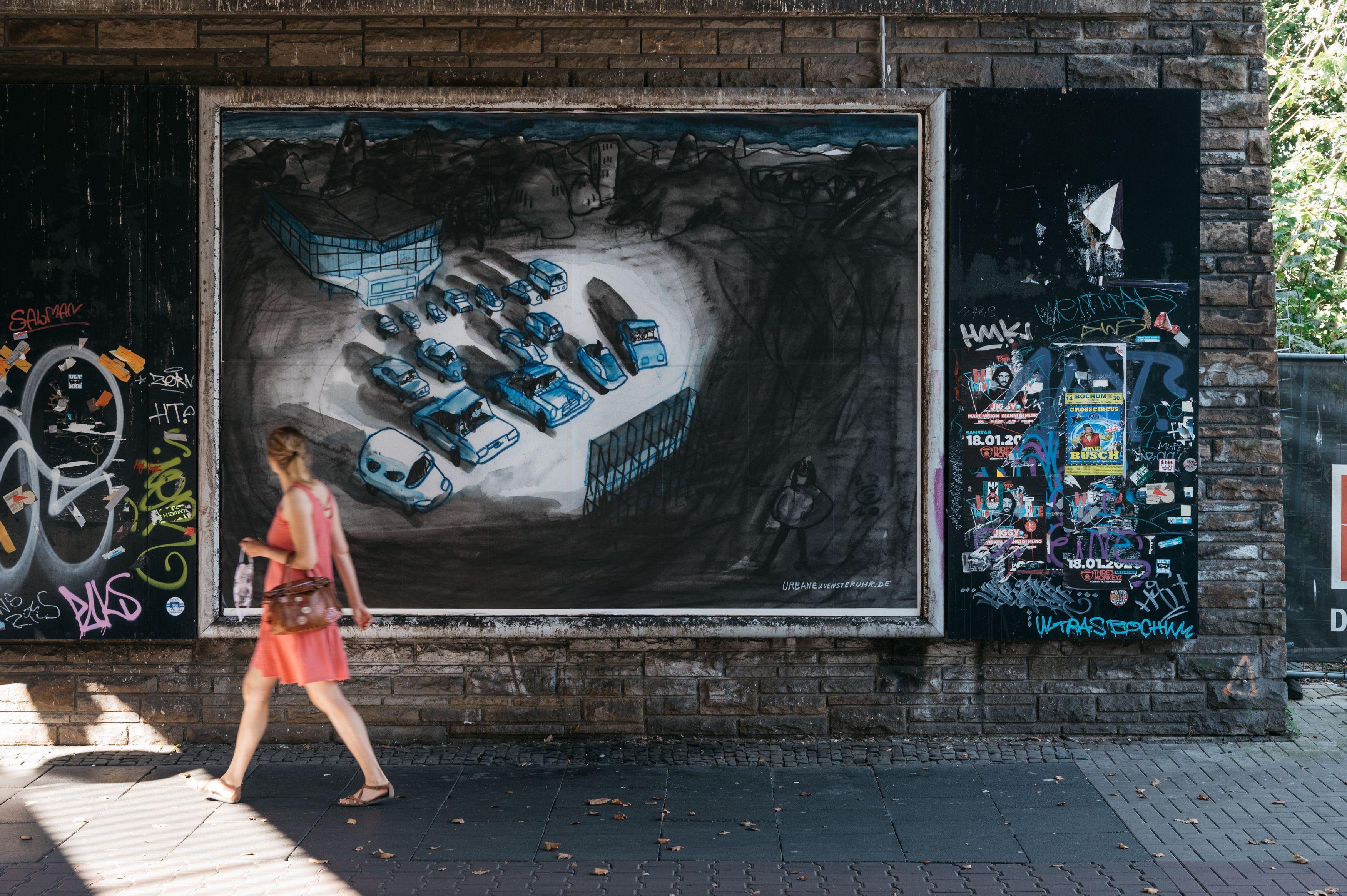 Urbane Künste Ruhr Christoph Schäfer: Post von gestern, Bochum