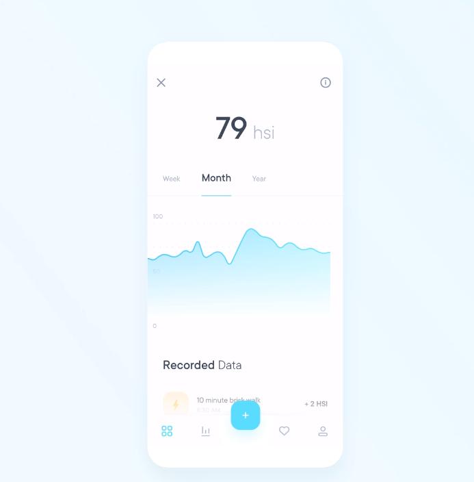 Gamified Health App Interactive Prototype