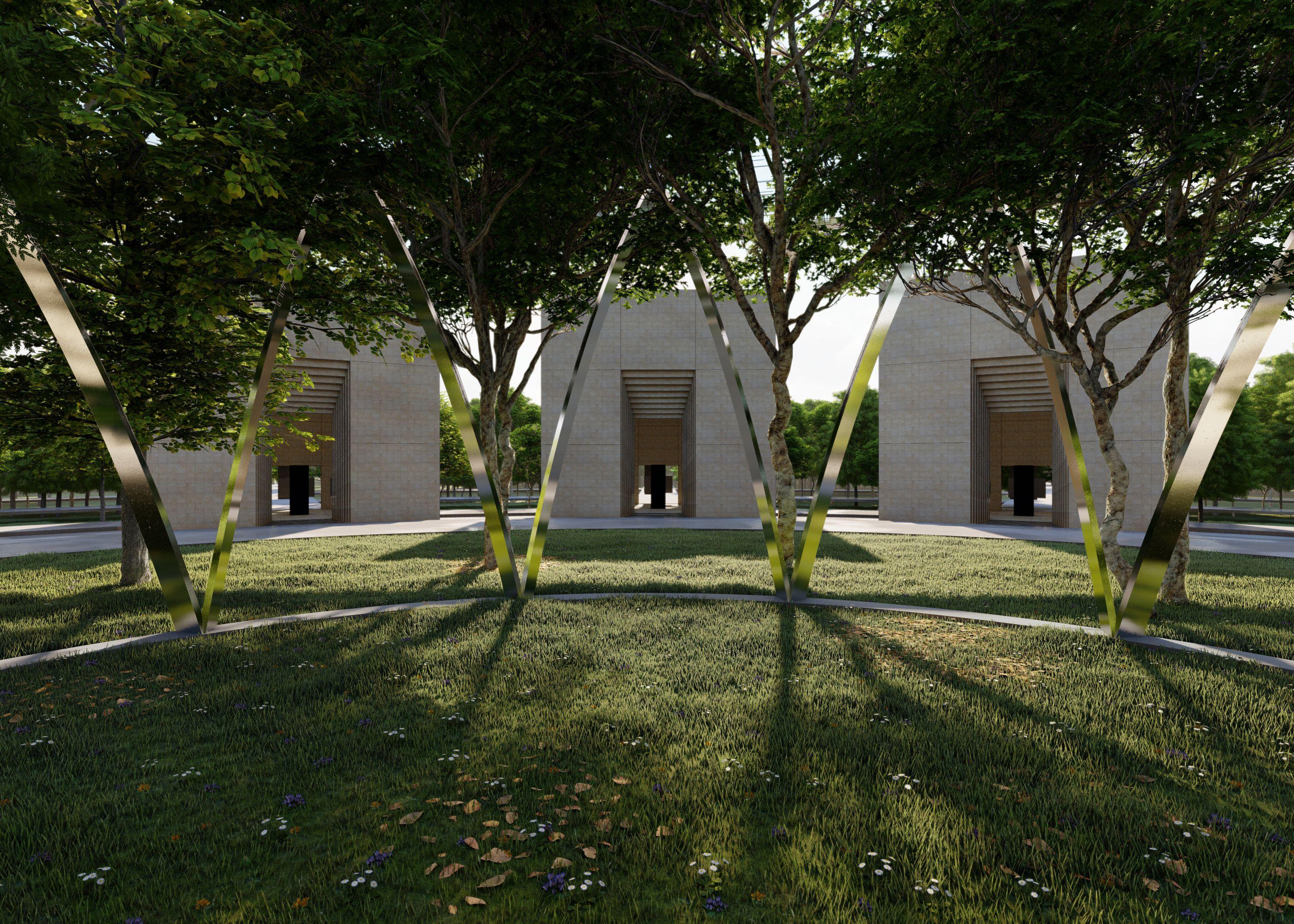 VCA courtyard