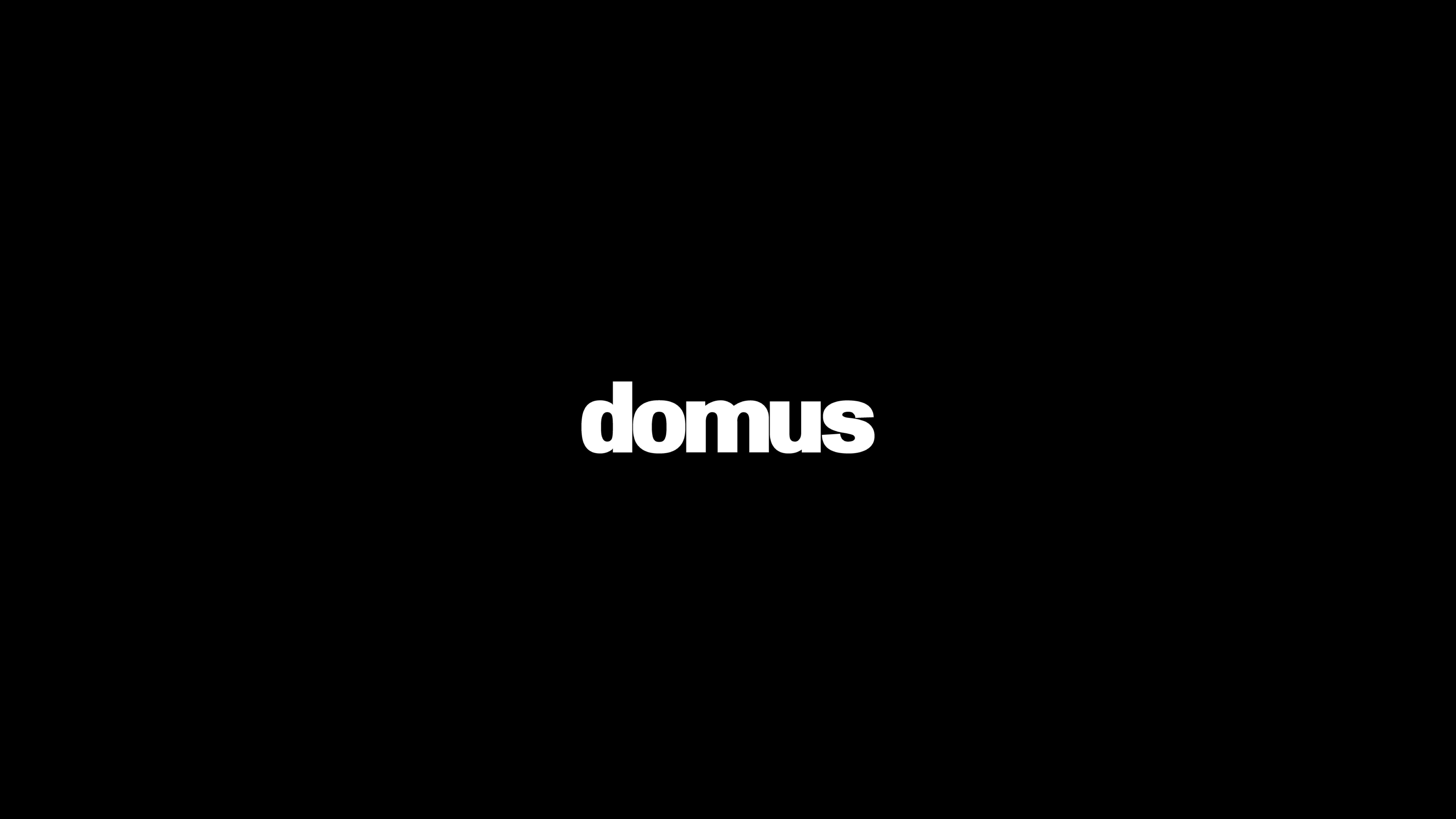 Domus magazine logo