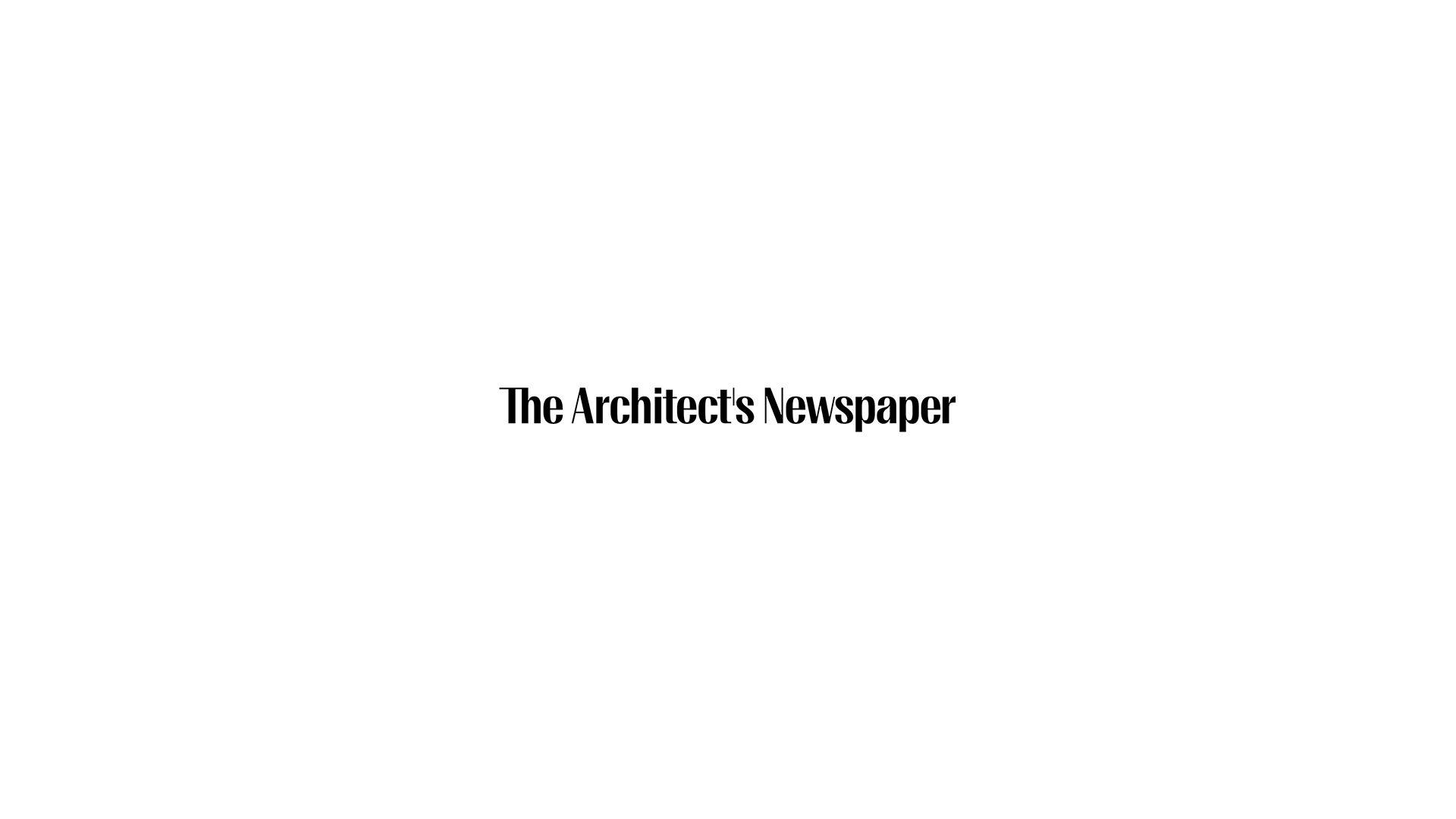 The Architect's Newspaper logo