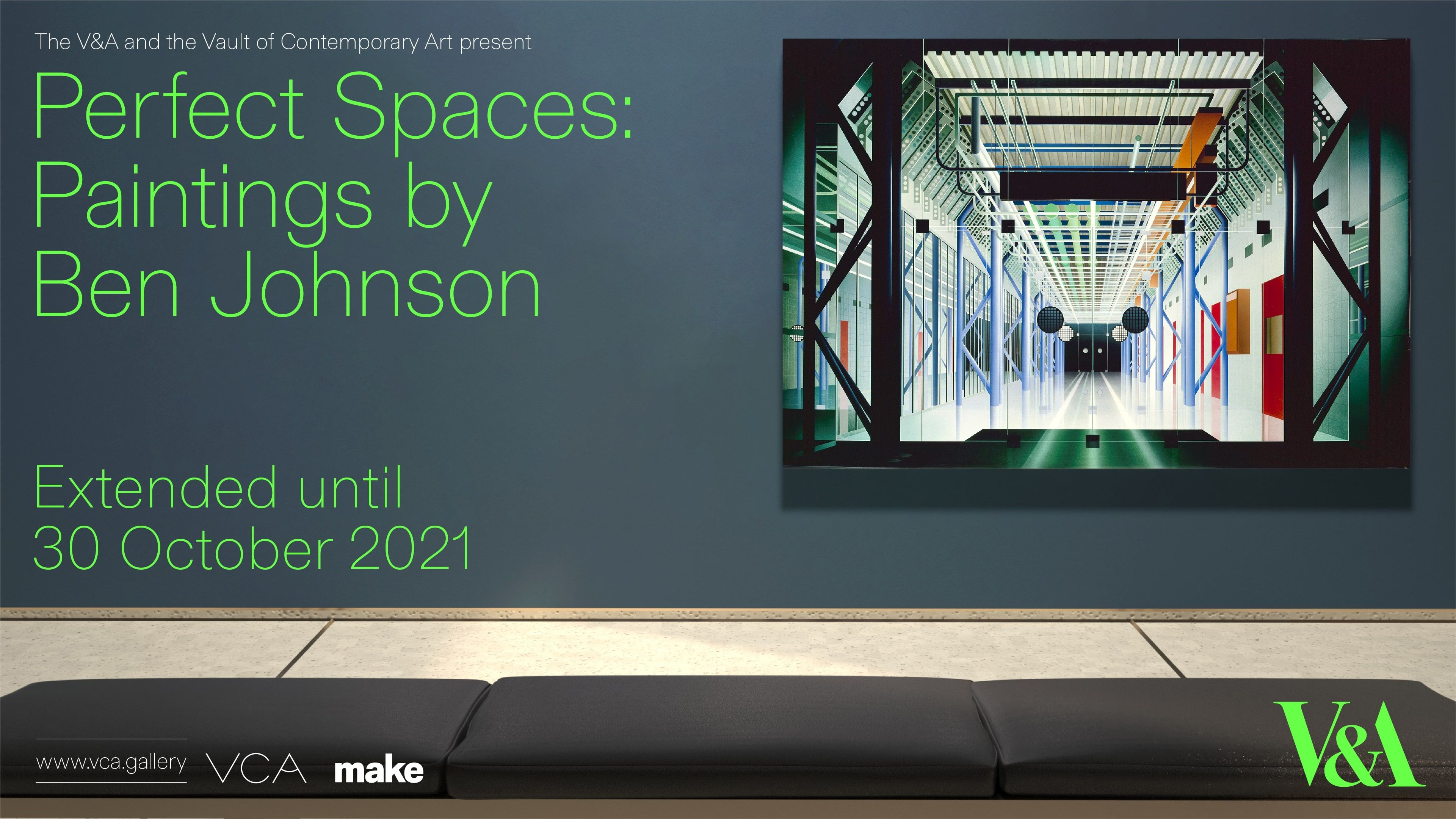 Perfect Spaces: Paintings by Ben Johnson