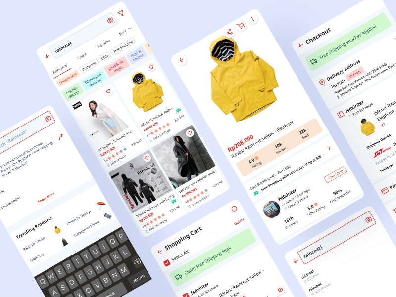 Redesign Shopping Experience at Shopee — English