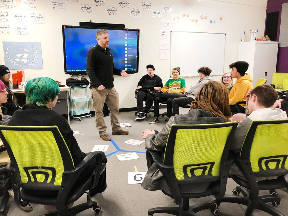 Thank you Scott Lowe for sharing your expertise on personality assessments with students.