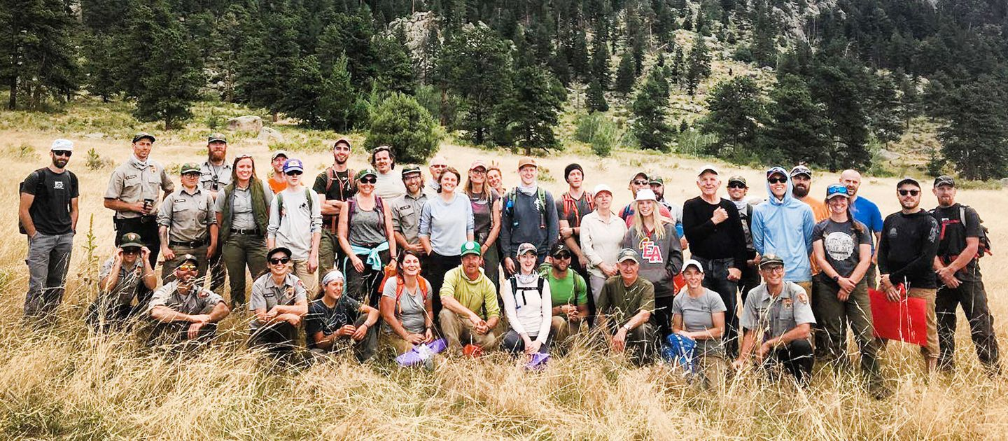Group at Lory State Park in Fort Collins