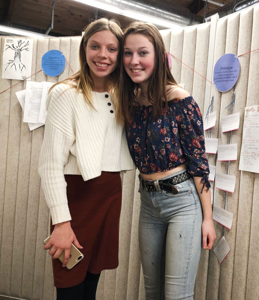 Students show off their learning at Q2 Exhibition!