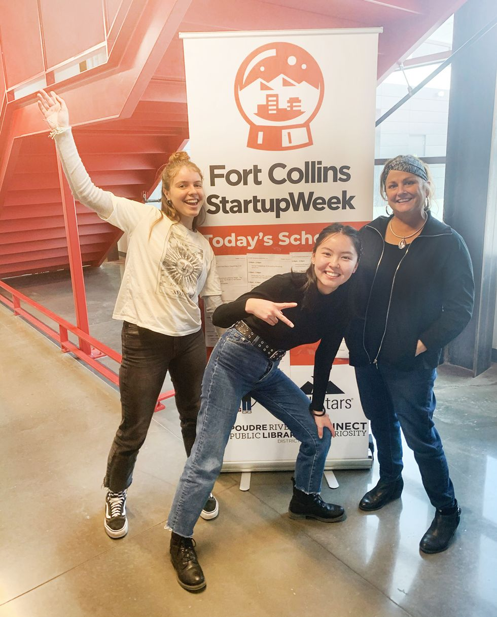 Bonnie and crew attended Startup Week Fort Collins.