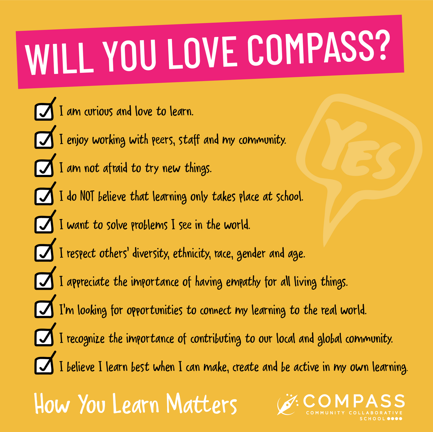 will you love compass