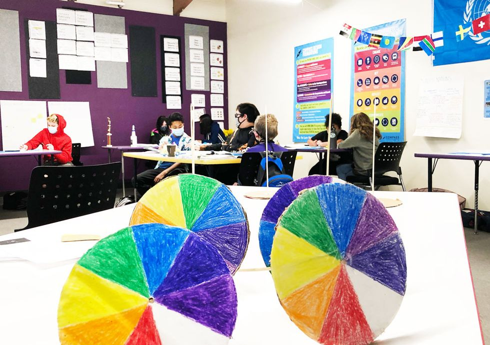 Ask Sham's Epistemology students about what they learned from color wheels. Hint: Is black a color? Is white a color? How do you know?