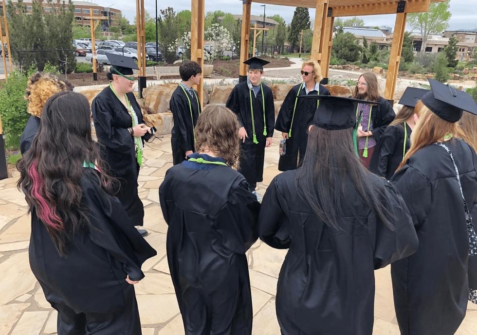 Compass Community Collaborative School Inaugural Graduating Class of 2021