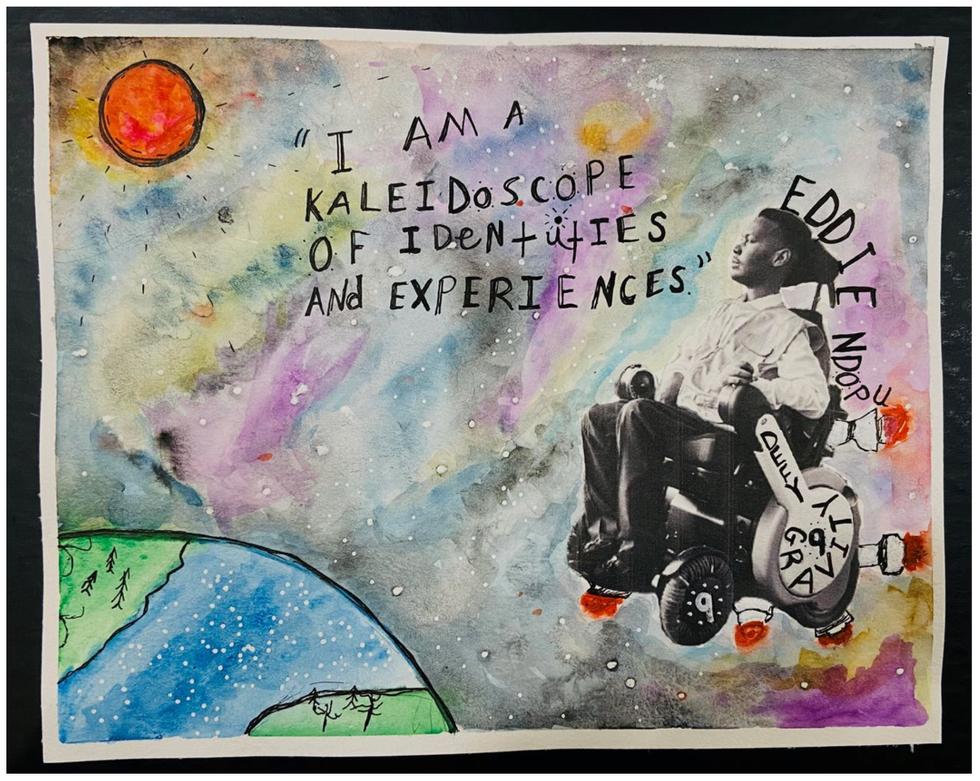 Kyler K Eddie Ndopu poster