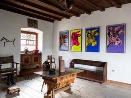 Interior, Andy Warhol, Chastè da Tarasp, Schloss Tarasp, Tarasp Castle