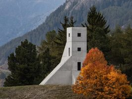 Not Vital, House to Watch the Sunset, SCARCH, Chastè da Tarasp, Schloss Tarasp, Tarasp Castle