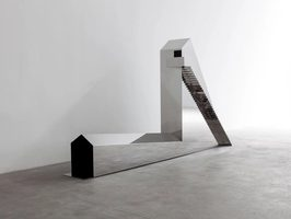 Not Vital, House to Watch the 3 Volcanoes, 2013, sculpture