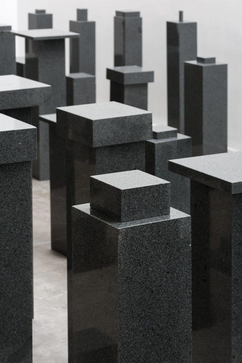 Not Vital, 100 Architects, 2016, sculpture, installation