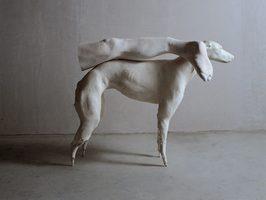 Not Vital, Greyhound Carrying My Broken Leg, 1997