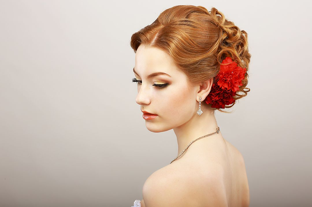 Bridal Updo-image