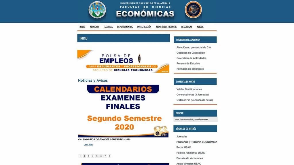 USAC | Económicas