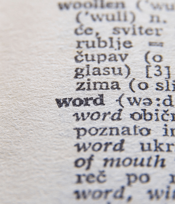 Words Can Make You Old - Yes, even you!