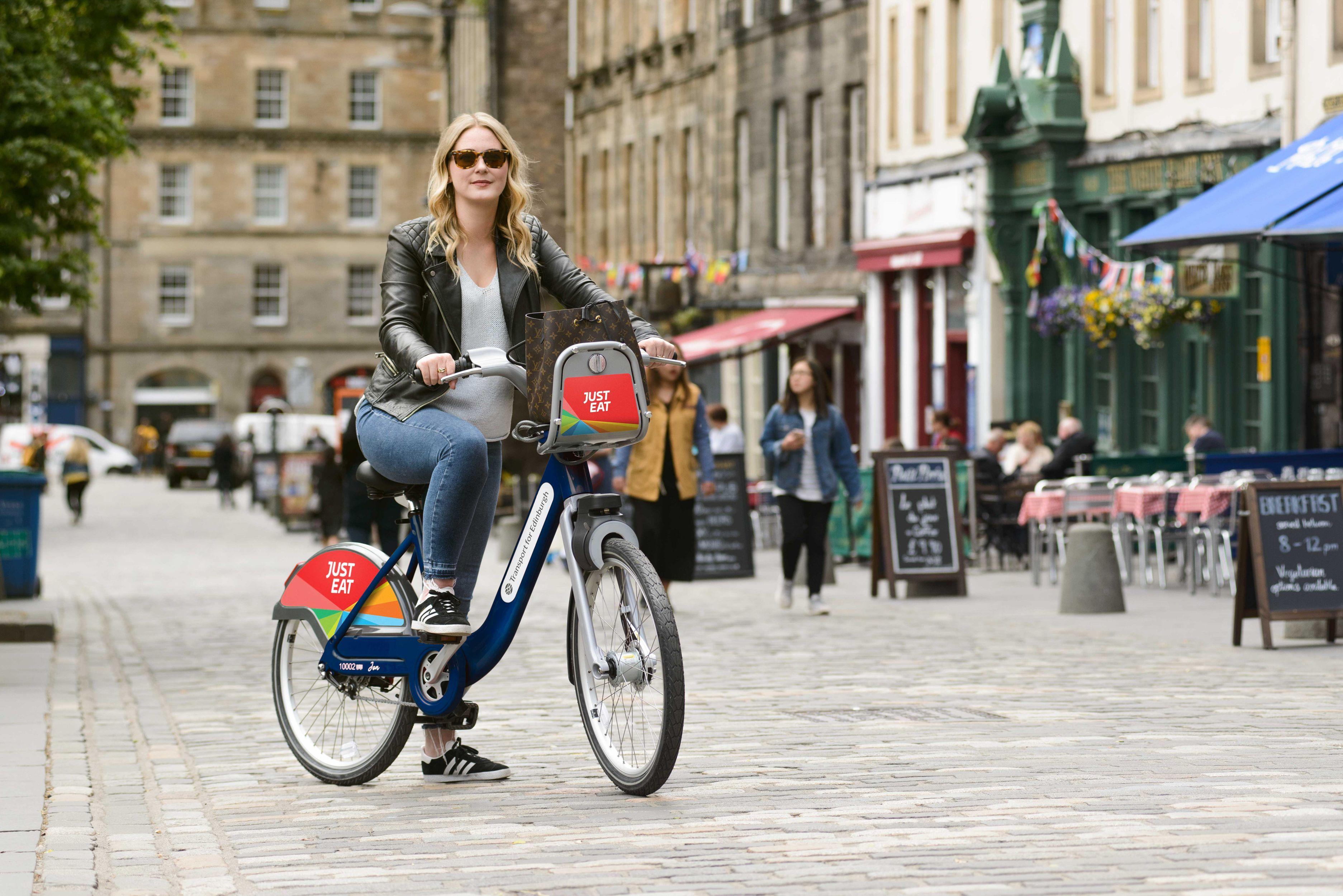 Just Eat Cycles Edinburgh