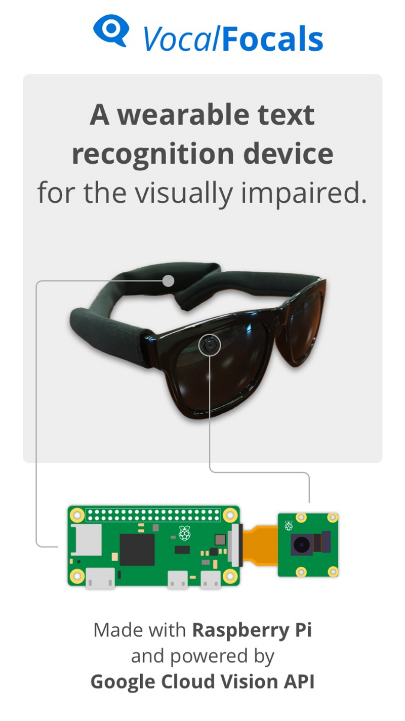 View VocalFocals Wearable Text Recognition project page