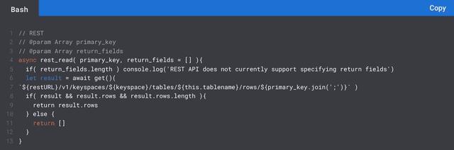 REST API Preview