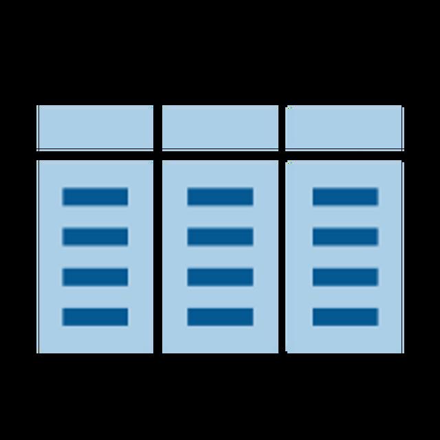 Tabular databases
