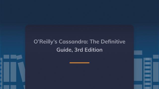 O'Reilly's Cassandra: The Definitive Guide, 3rd Edition cover