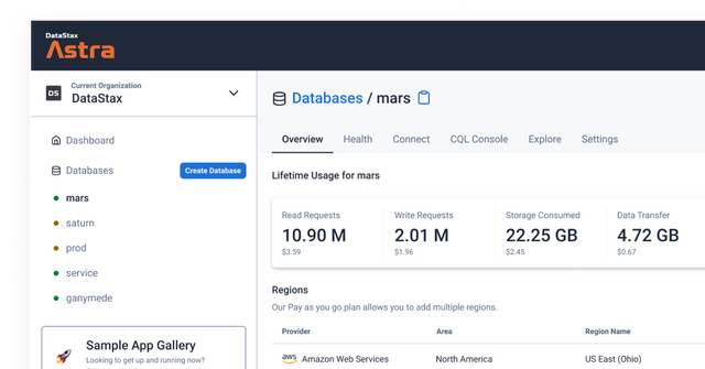 DataStax Database