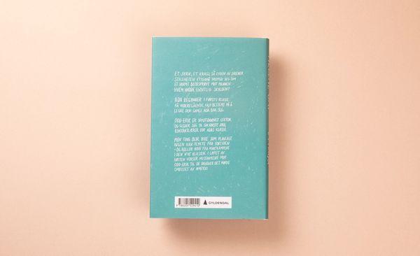 Baksiden av turkis bok