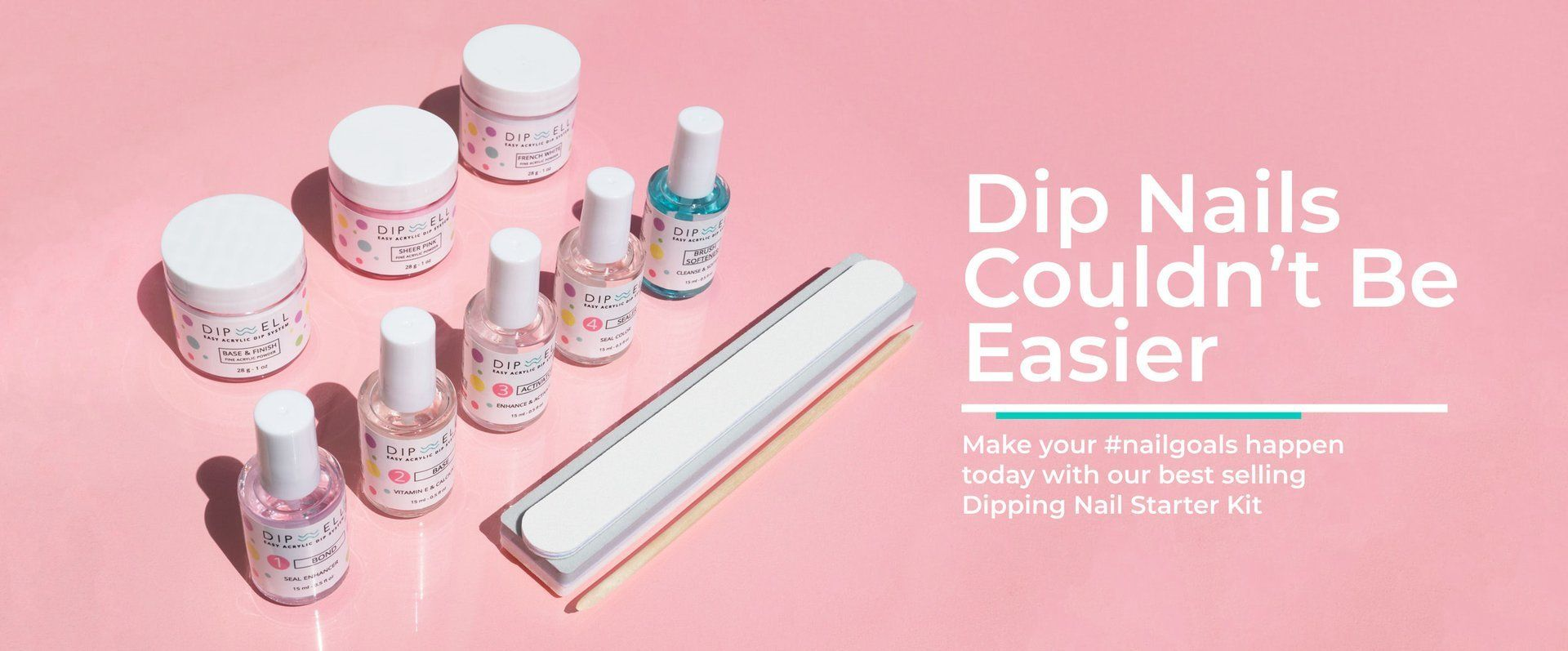 Dip nails starter kit