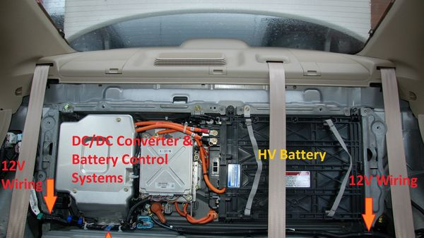 Annotated Hybrid Battery Image