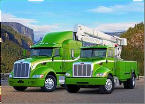 Hybrid long-haul and utility trucks