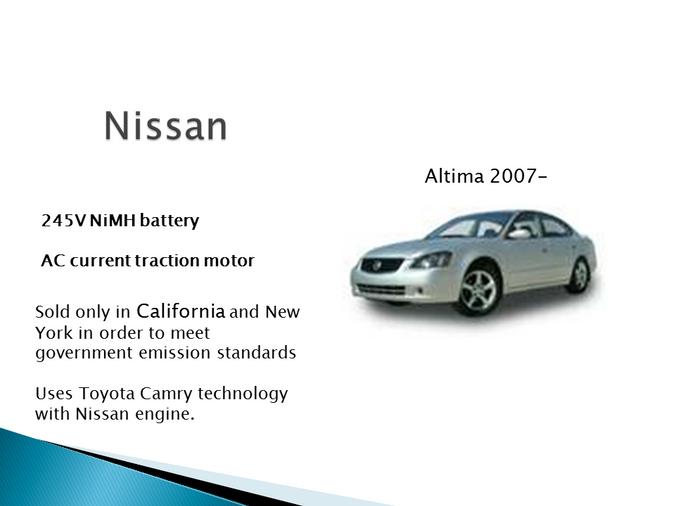 Nissan Hybrid Models