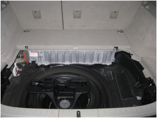 Prius Battery with Individual Cells Exposed