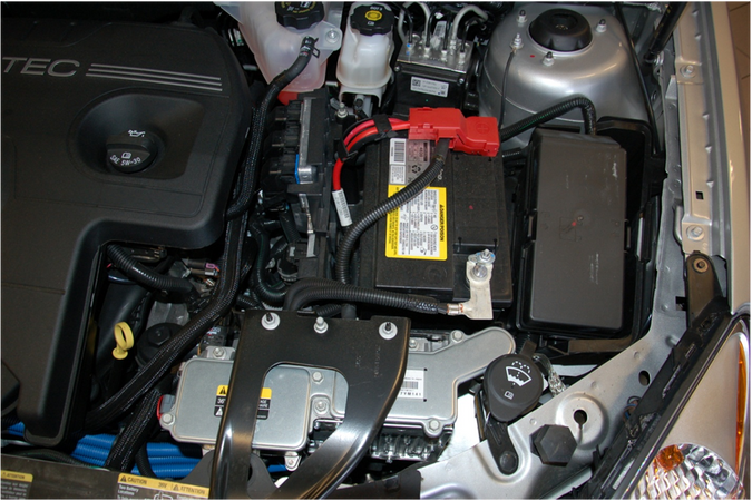 2009 Saturn Aura 12v battery pack and wiring